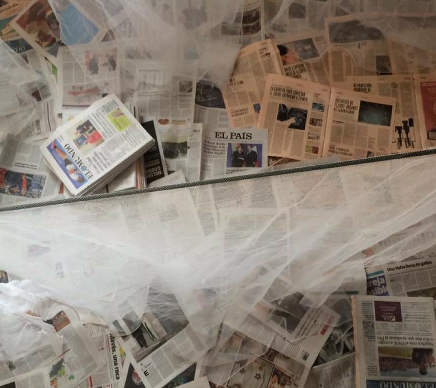 Un mundo de periódico y fantasía
